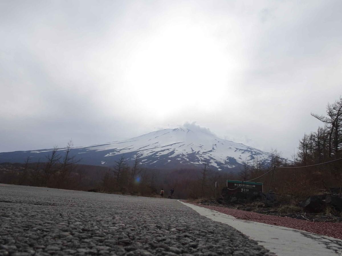 冬の冨士山