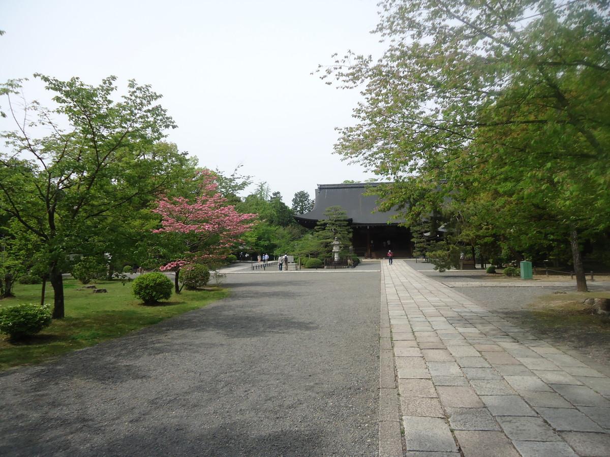 観光地にある寺